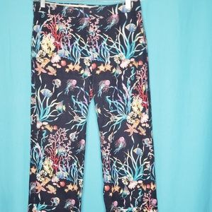3/$25 J Crew Collection Patio Pants Under the Sea